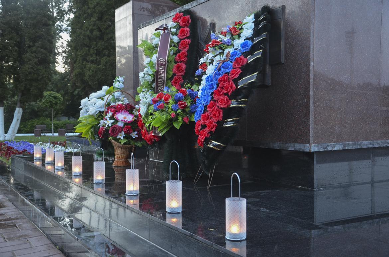 В Жуковском прошли мероприятия, посвященные Дню памяти и скорби