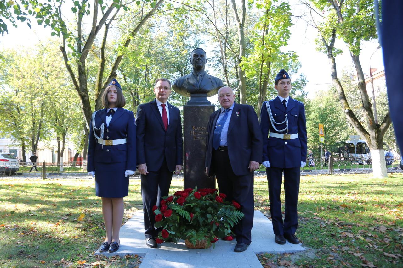 Генеральный директор ФГУП «ЦАГИ» принял участие в открытии уникального архитектурного комплекса в честь авиаконструкторов