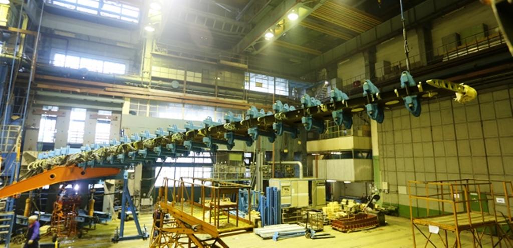 Специалисты ФГУП «ЦАГИ» провели прочностные испытания кессона крыла самолета МС-21