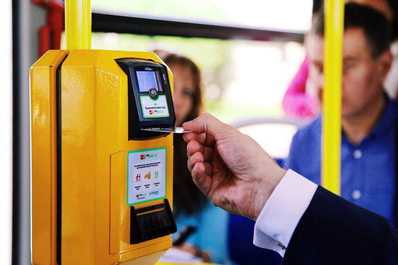 Проезд в автобусах Жуковского можно оплатить банковской картой