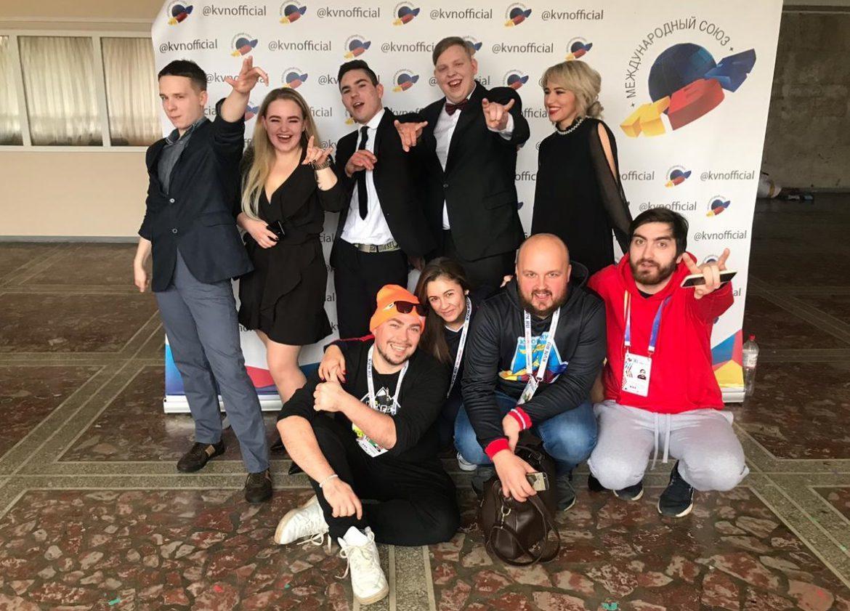 Команда КВН «Без понтов» приняла участие в Международном фестивале «КиВиН-2019»
